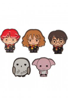 Harry Potter Enamel Pin Set by Bioworld