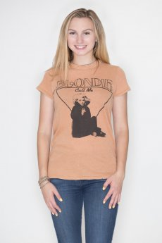 Blondie Call Me Tee by Junk Food