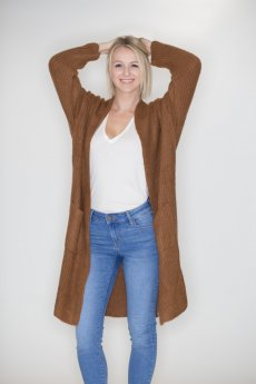 Oversized Cardigan by Lumiere