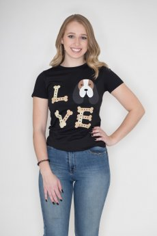 Beagle Love Tee by TSF Design