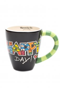 Romero Britto Happy Day Mug by Giftcraft