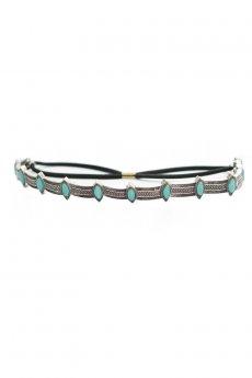 Turquoise Tribal Headband