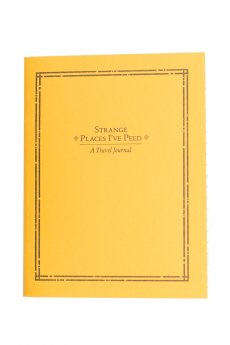 Strange Places Travel Journal by Sapling Press