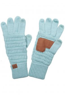 Touchscreen Compatible Gloves by C.C.