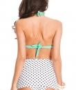 Polka Dot Bow Skirt Bikini