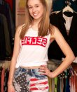 AmericanFlag High Waist Shorts by Machine Jeans