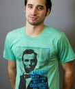 Honest Abe T-Shirt by May 23