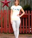 Khaki Skinny Jeans by Cielo