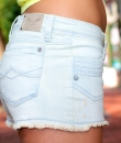 Fade Denim Shorts by H & G