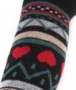 Thigh High Heart Socks by Girly